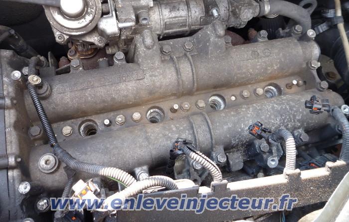 Broken Bolt Removal >> Demontage injecteur et bougie préchauffage de tous le moteur diesel